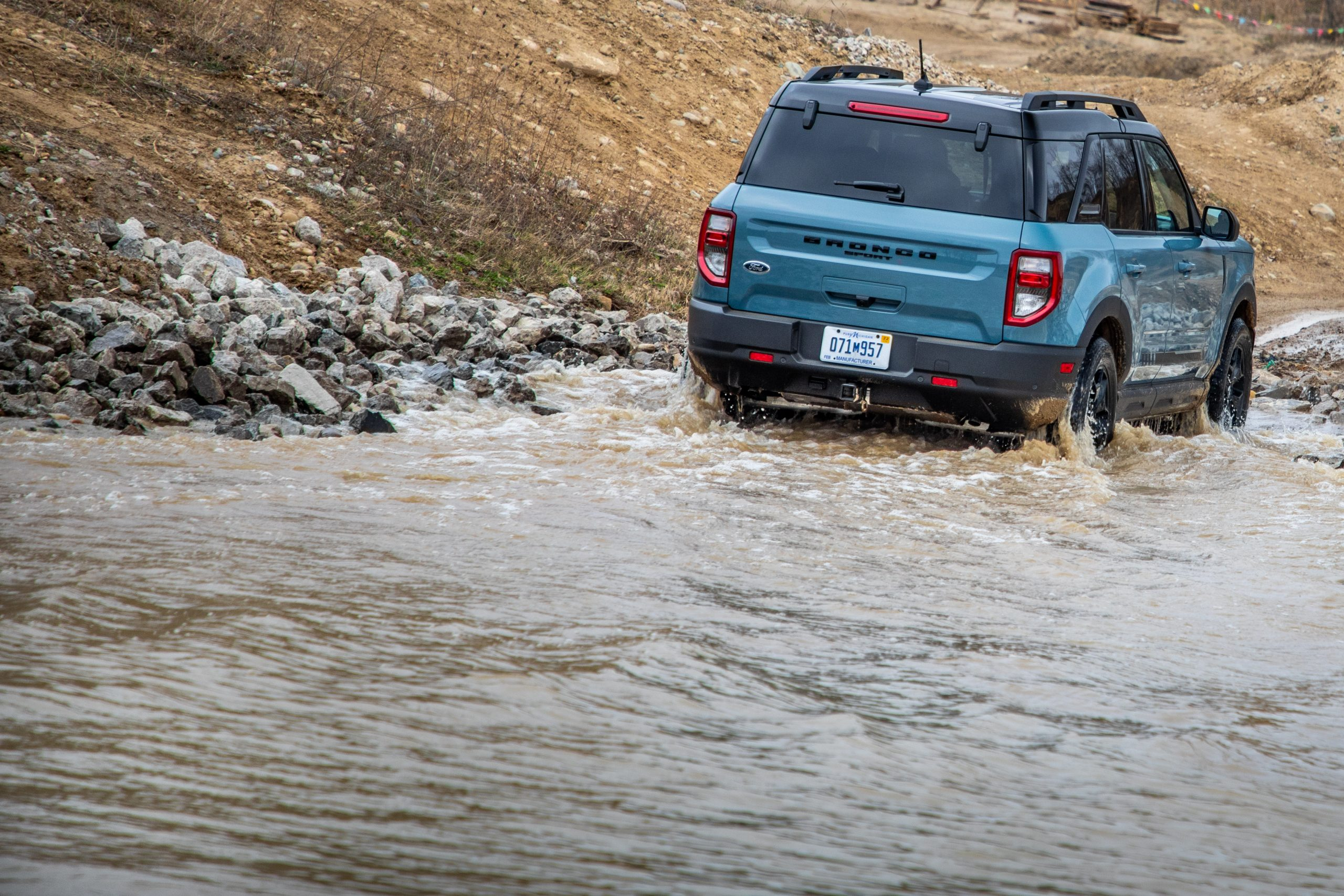 2021 Bronco Sport water fording