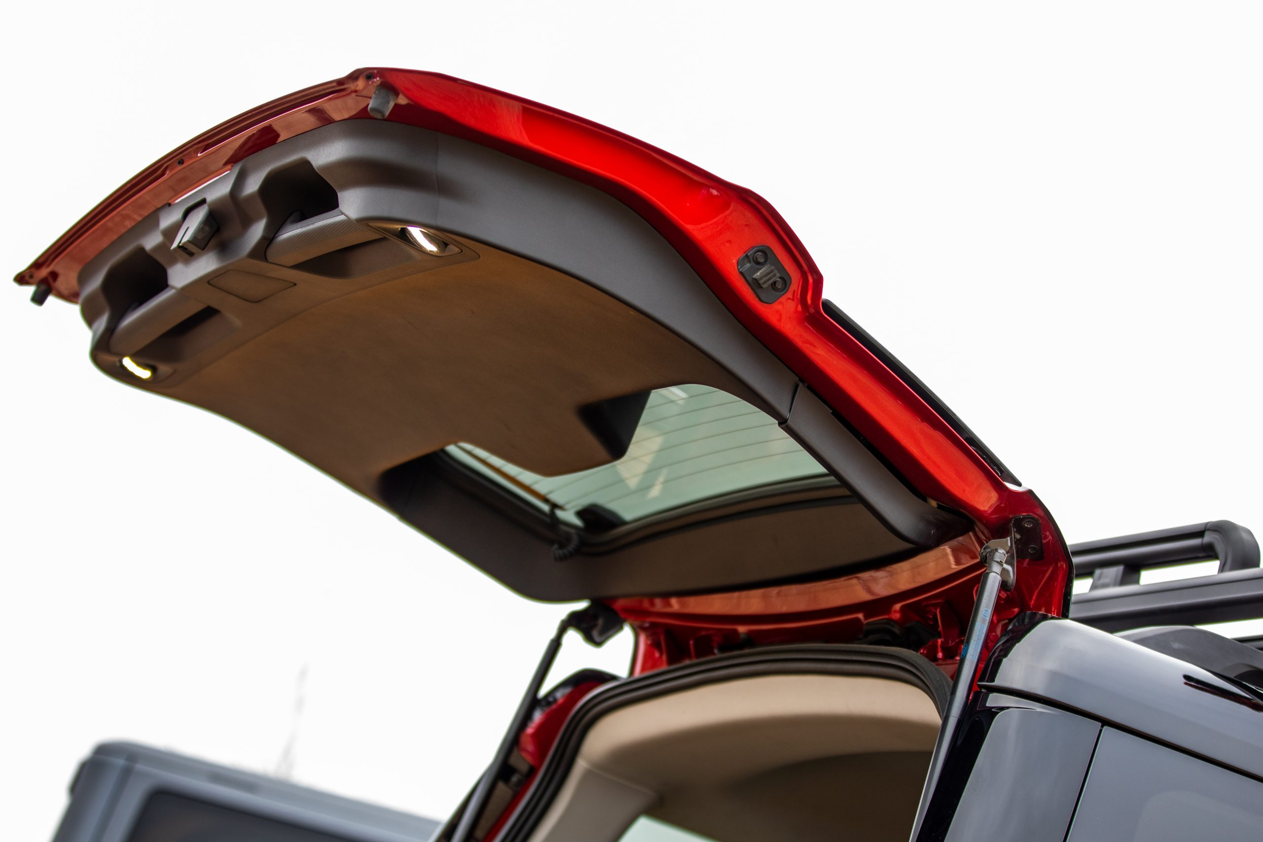 2021 Bronco Sport rear hatch