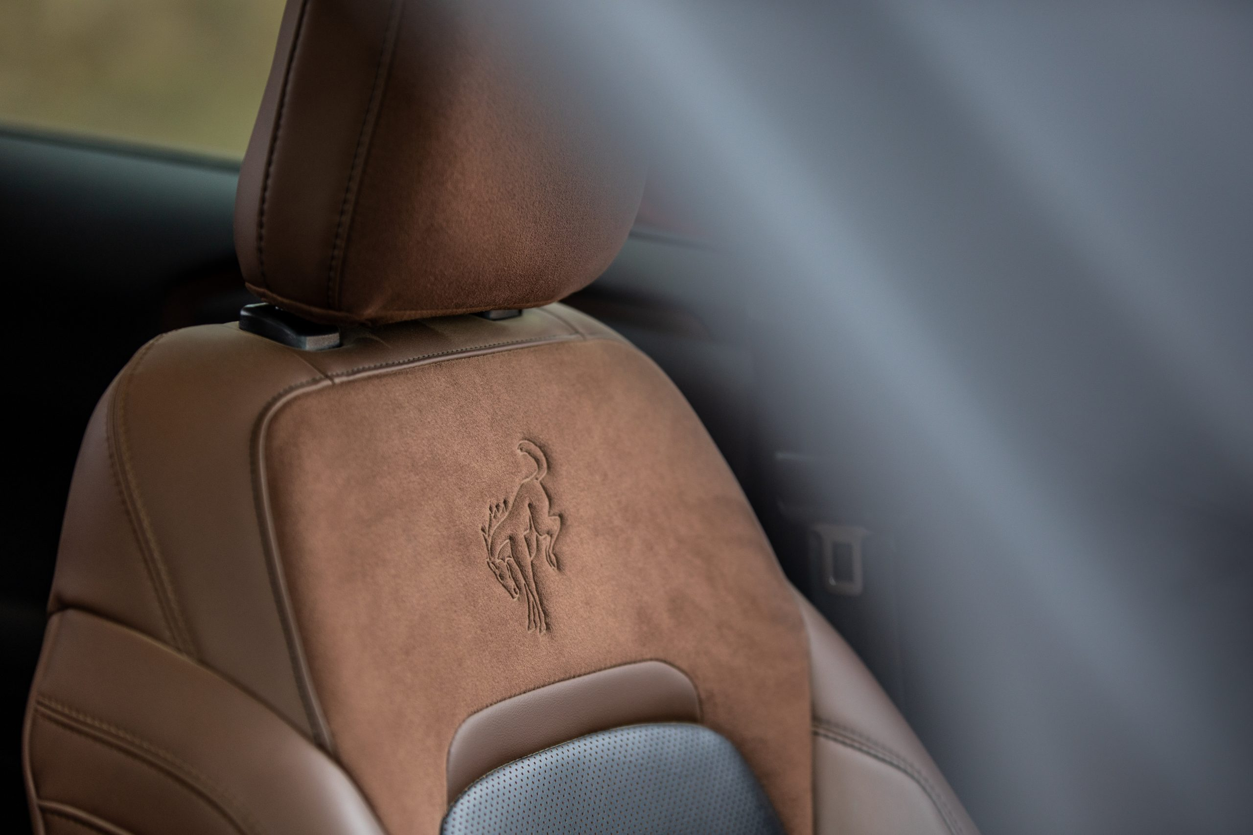 2021 Bronco Sport seat embossing