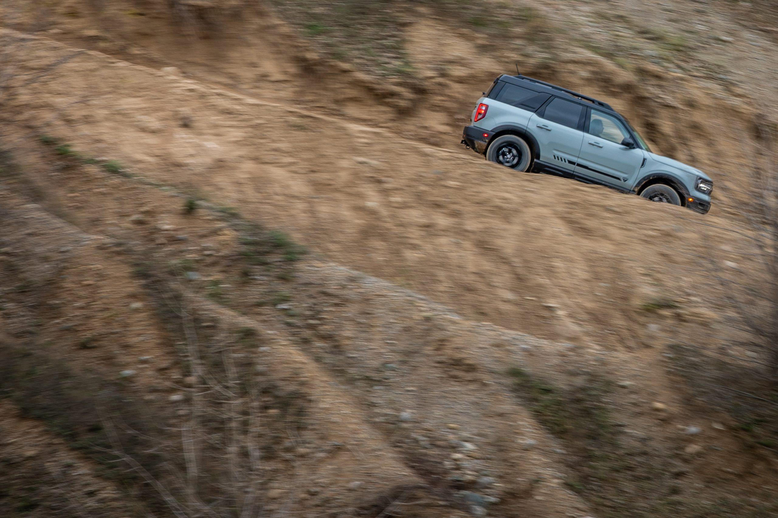 2021 Bronco Sport hill descent