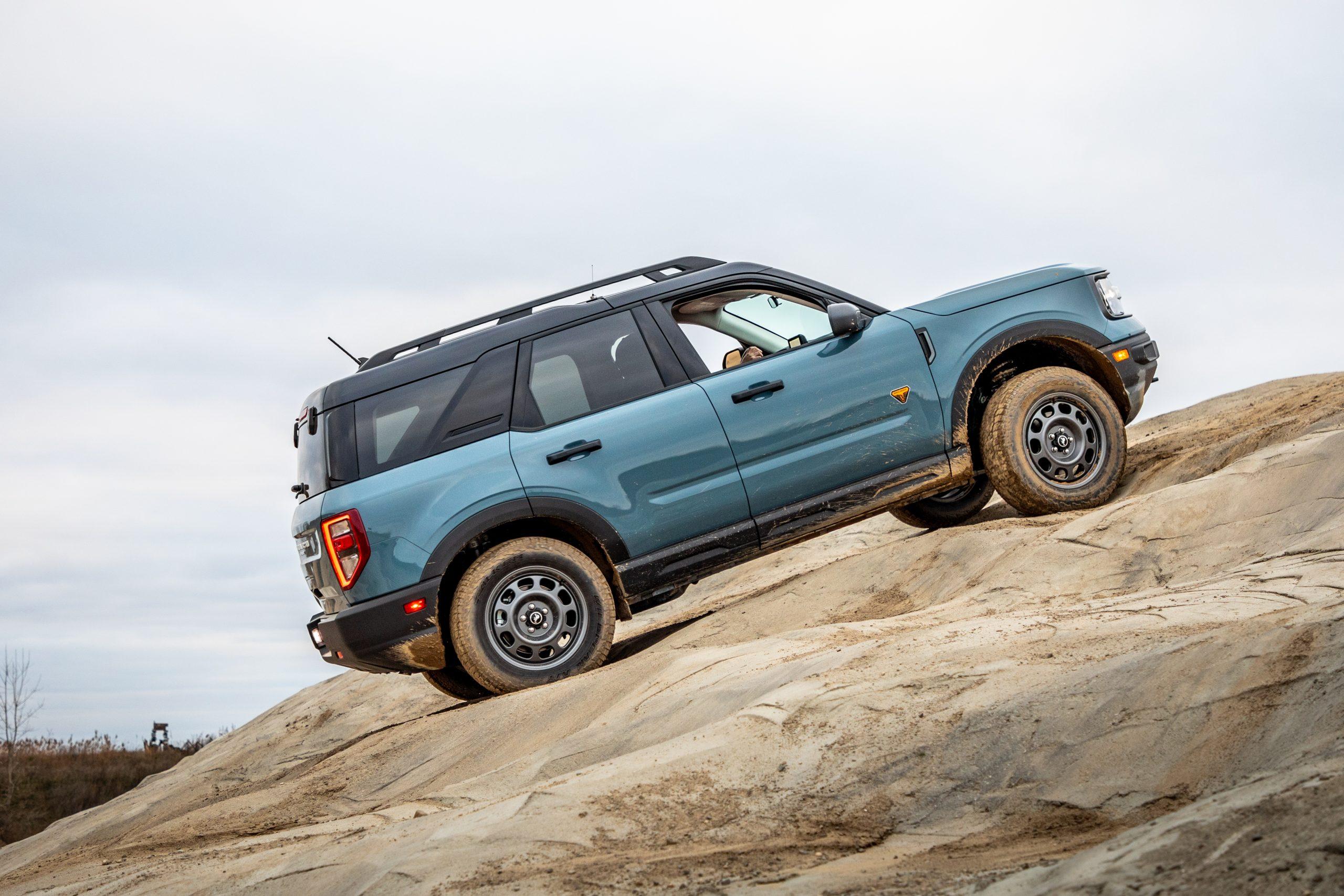 2021 Bronco Sport mountain climbing