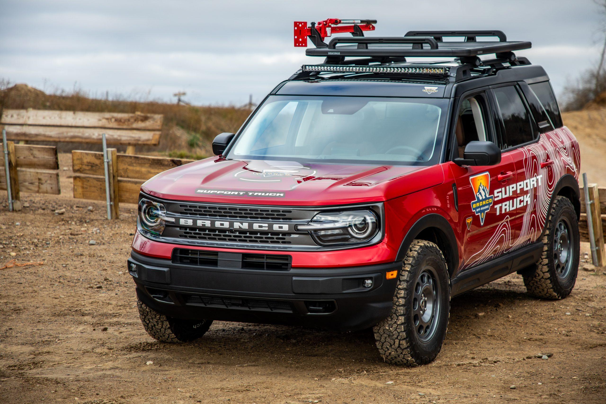 2021 Bronco Sport support truck