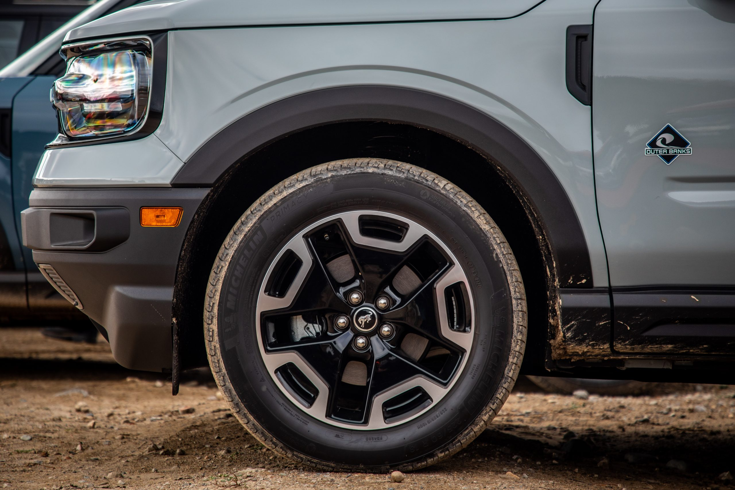 2021 Bronco Sport outer banks front wheel