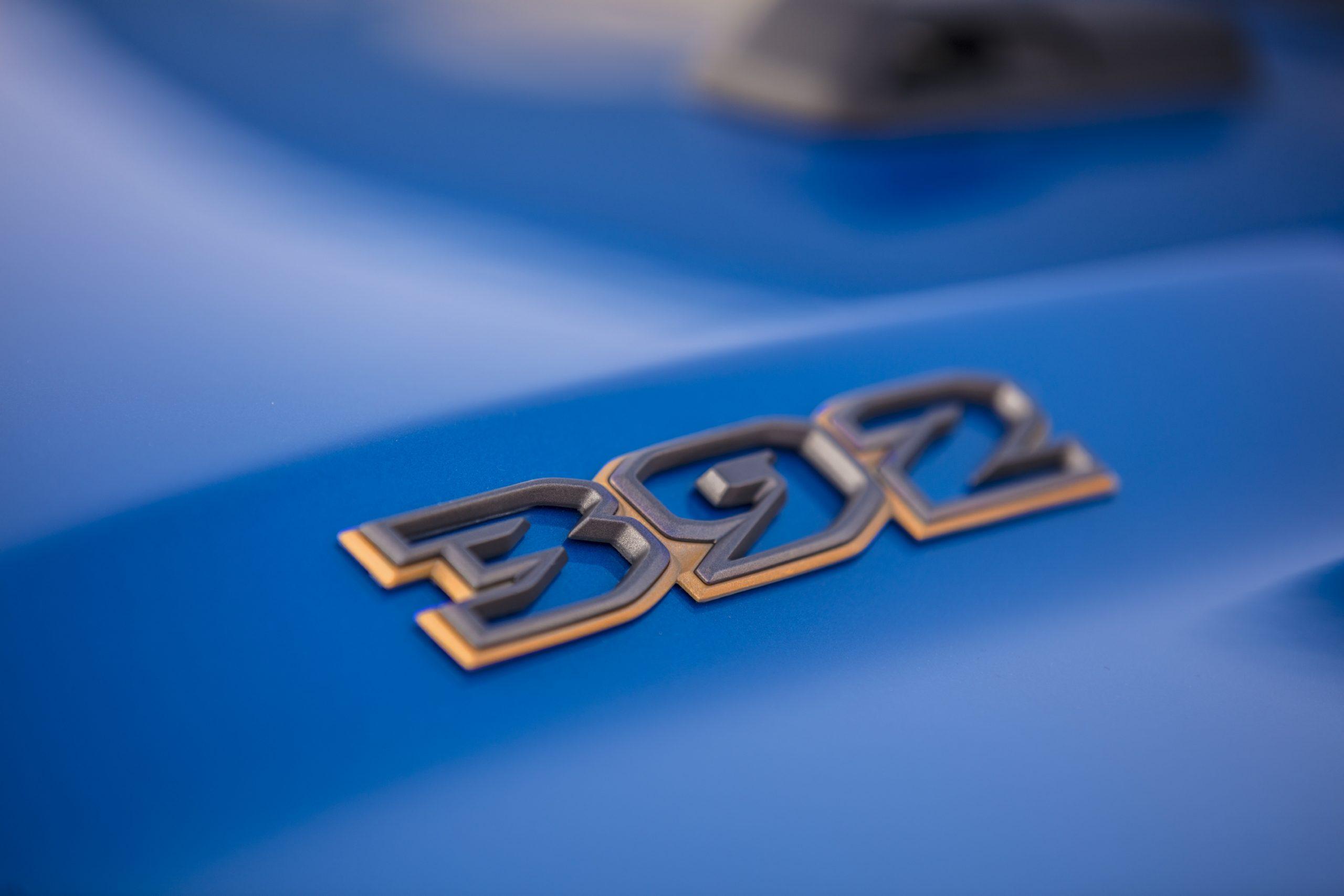 2021 Jeep Wrangler Rubicon 392 hood badge