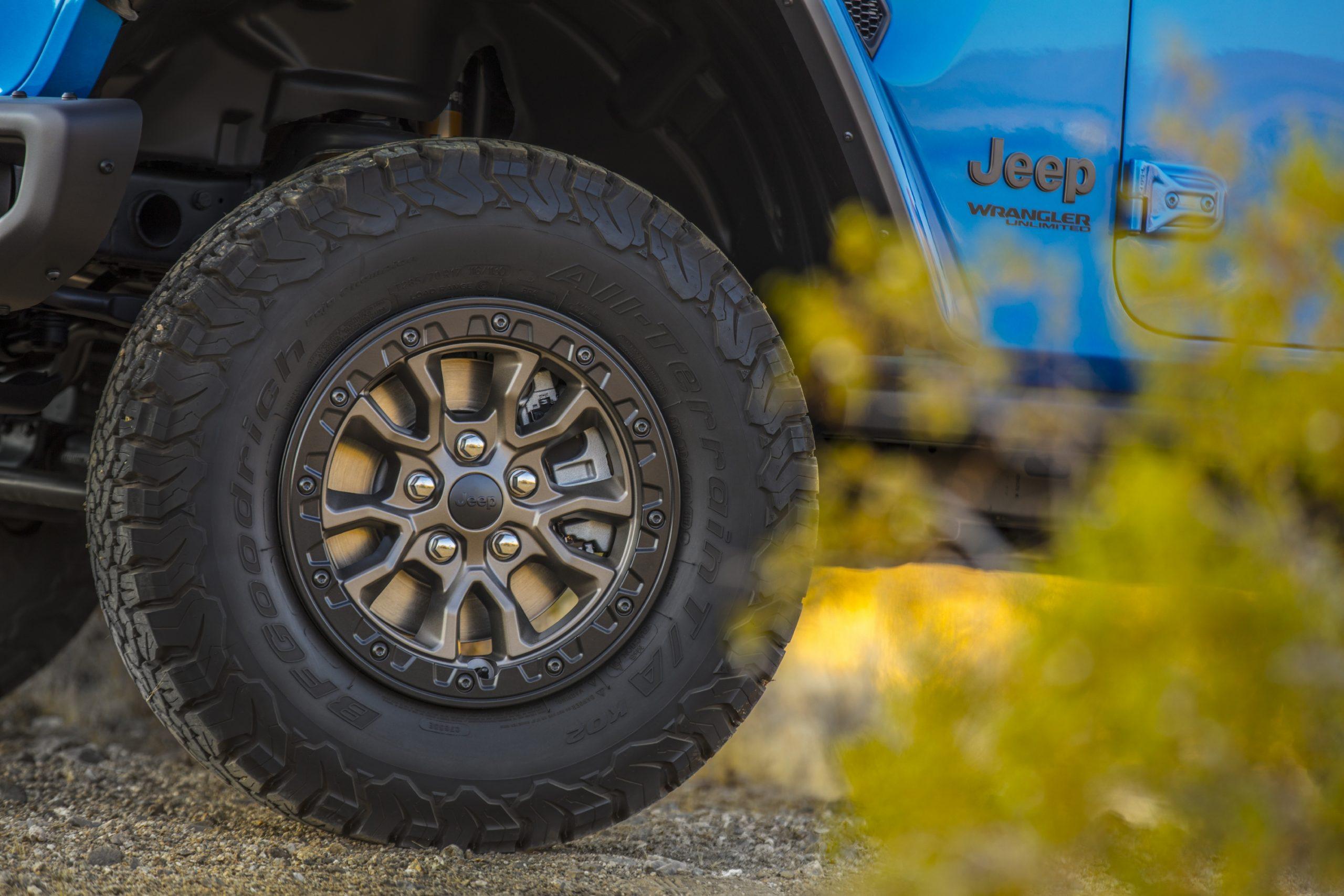 2021 Jeep Wrangler Rubicon 392 whee and tire