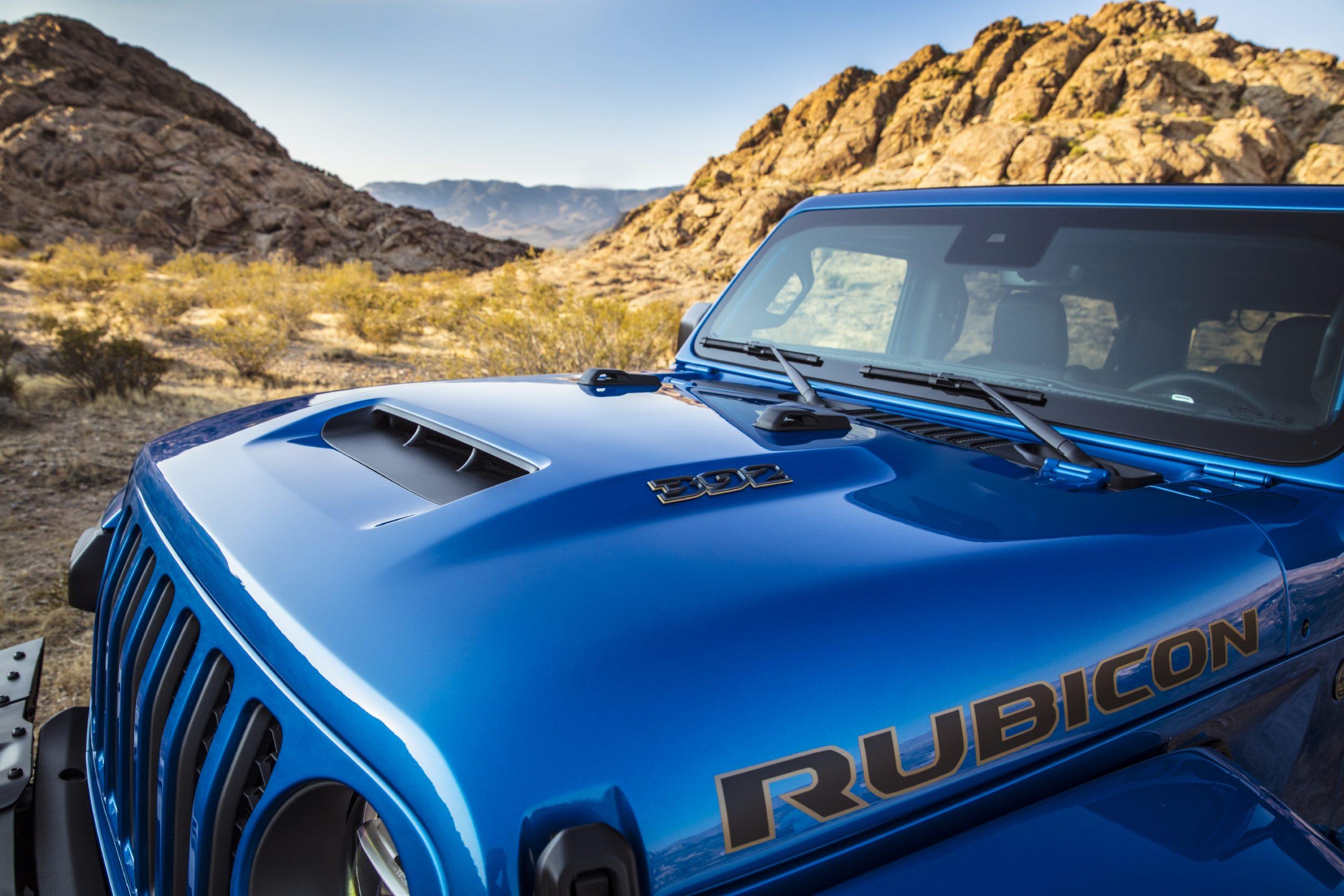 2021 Jeep Wrangler Rubicon 392 hood