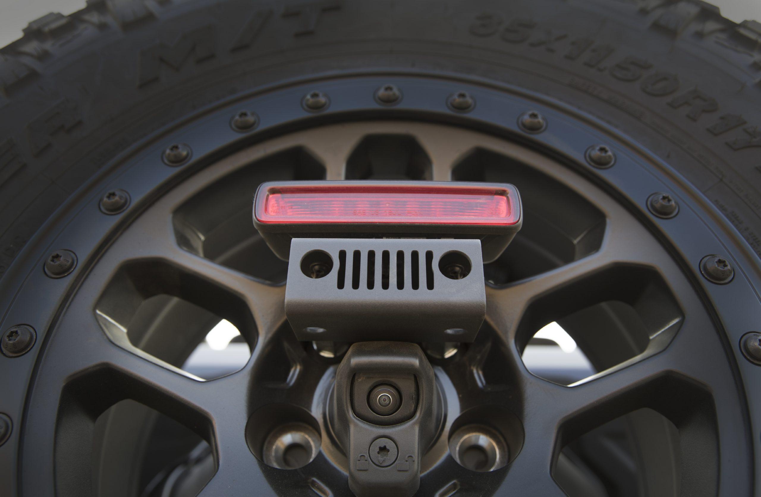 2021 Jeep Wrangler Rubicon 392 spare easter egg