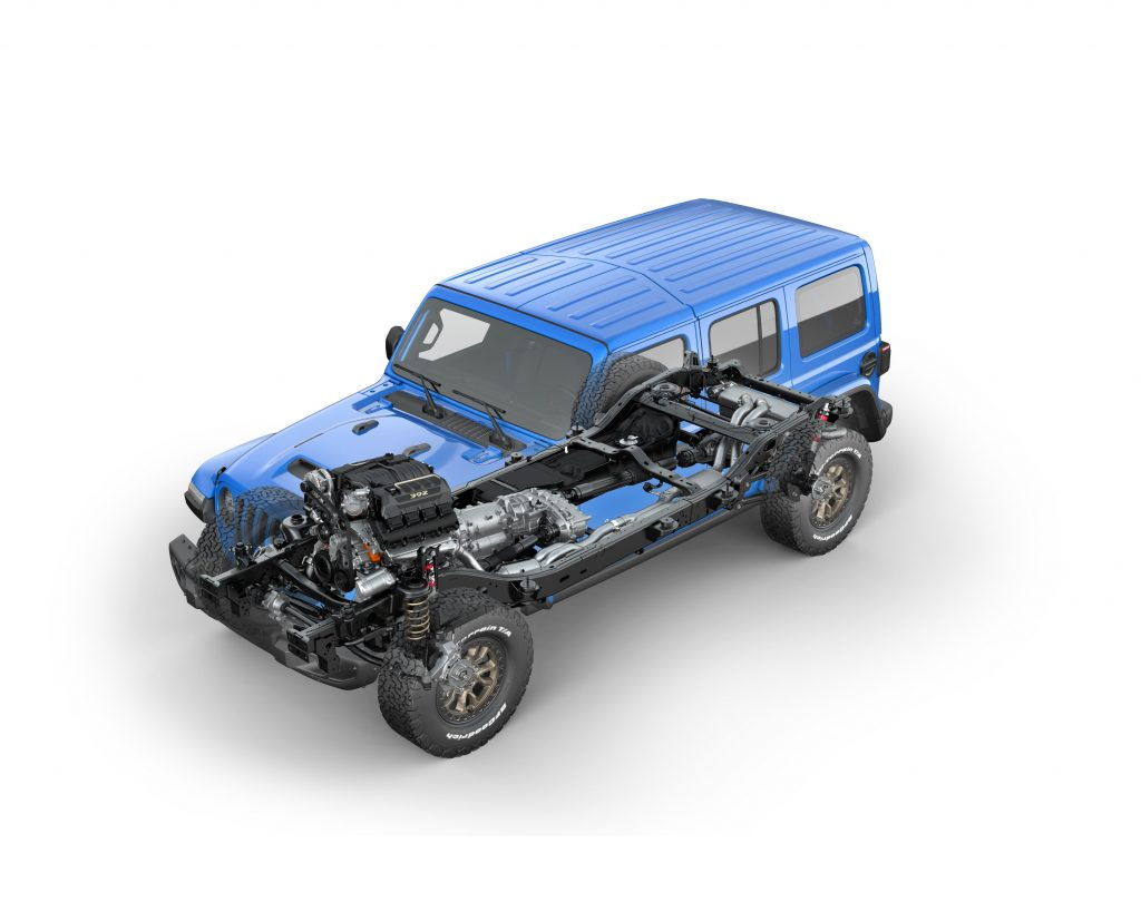2021 Jeep Wrangler Rubicon 392 ghost chassis