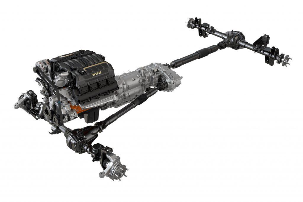 2021 Jeep Wrangler Rubicon 392 driveline