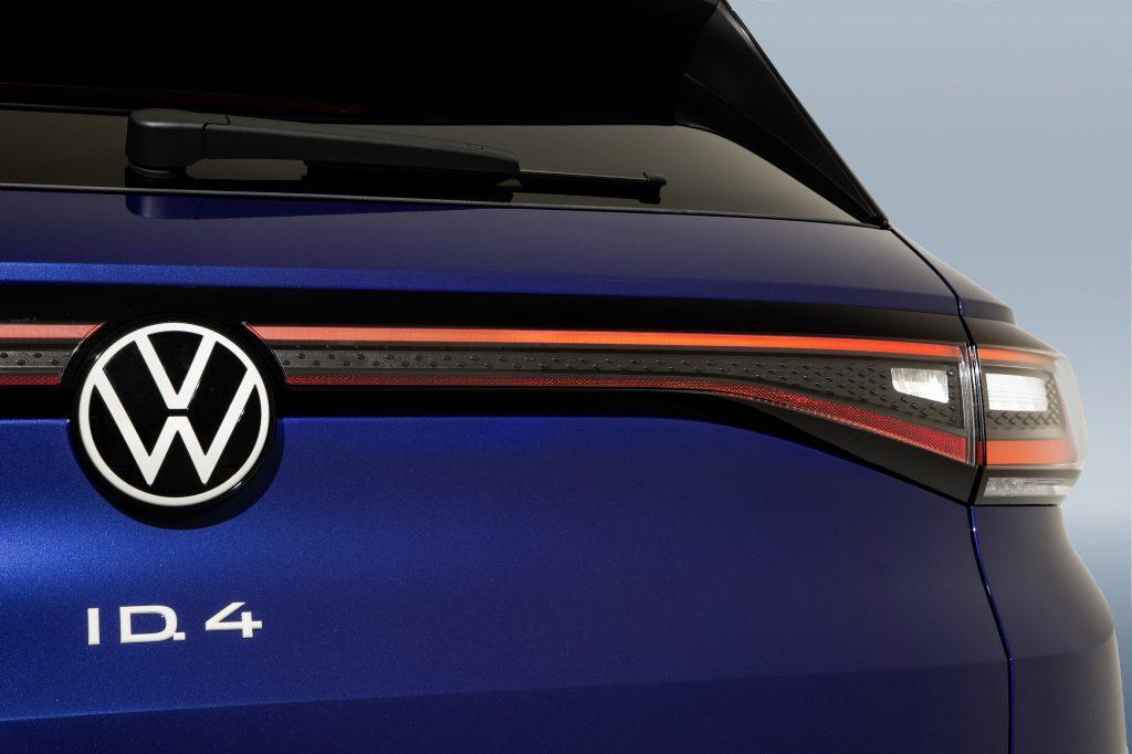 2021 VW ID4 1st edition badge rear