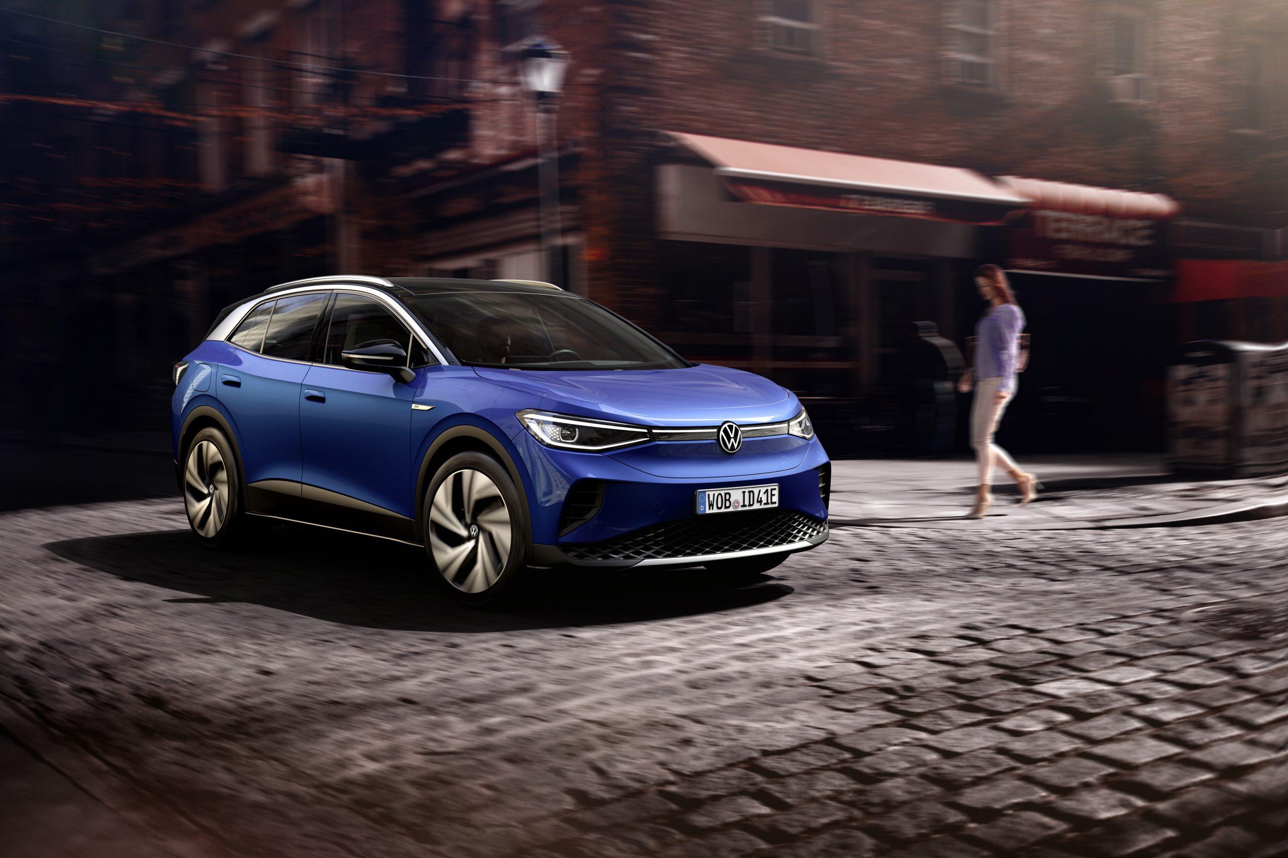 2021 VW ID4 front three quarter