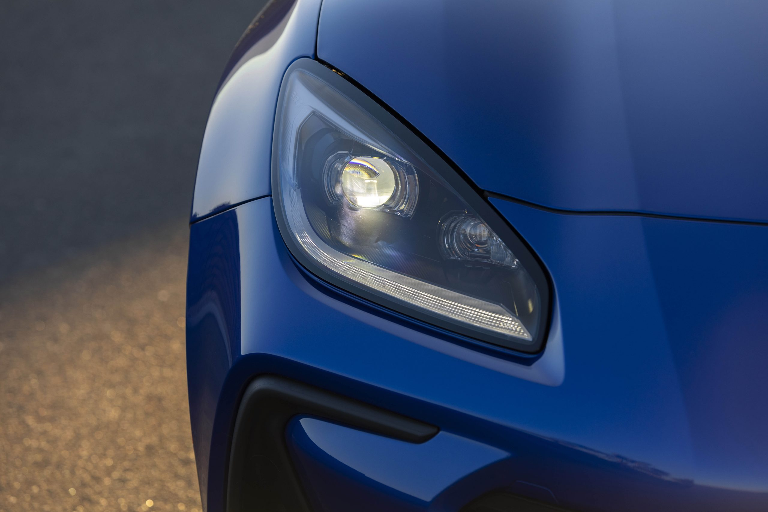 New 2022 Subaru BRZ headlight
