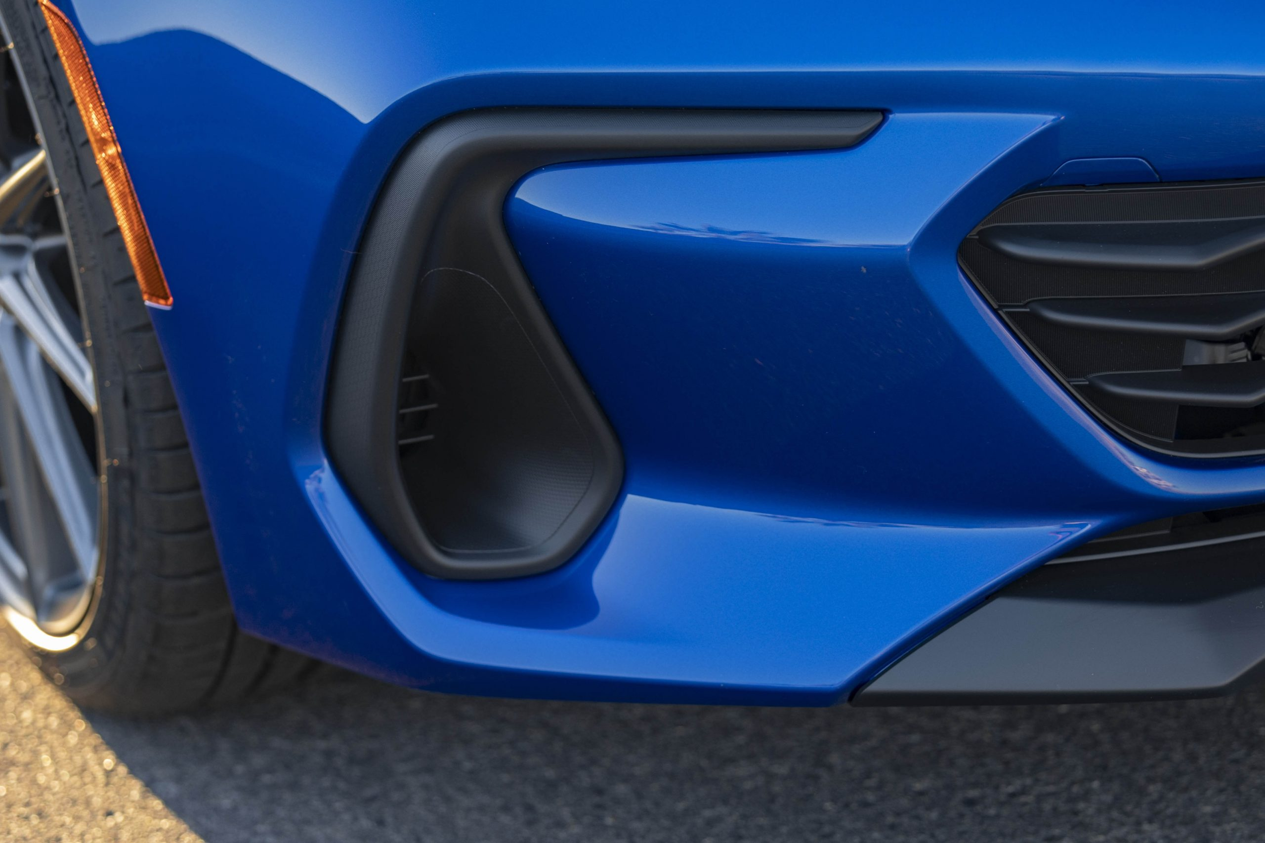 New 2022 Subaru BRZ front lower air duct detail