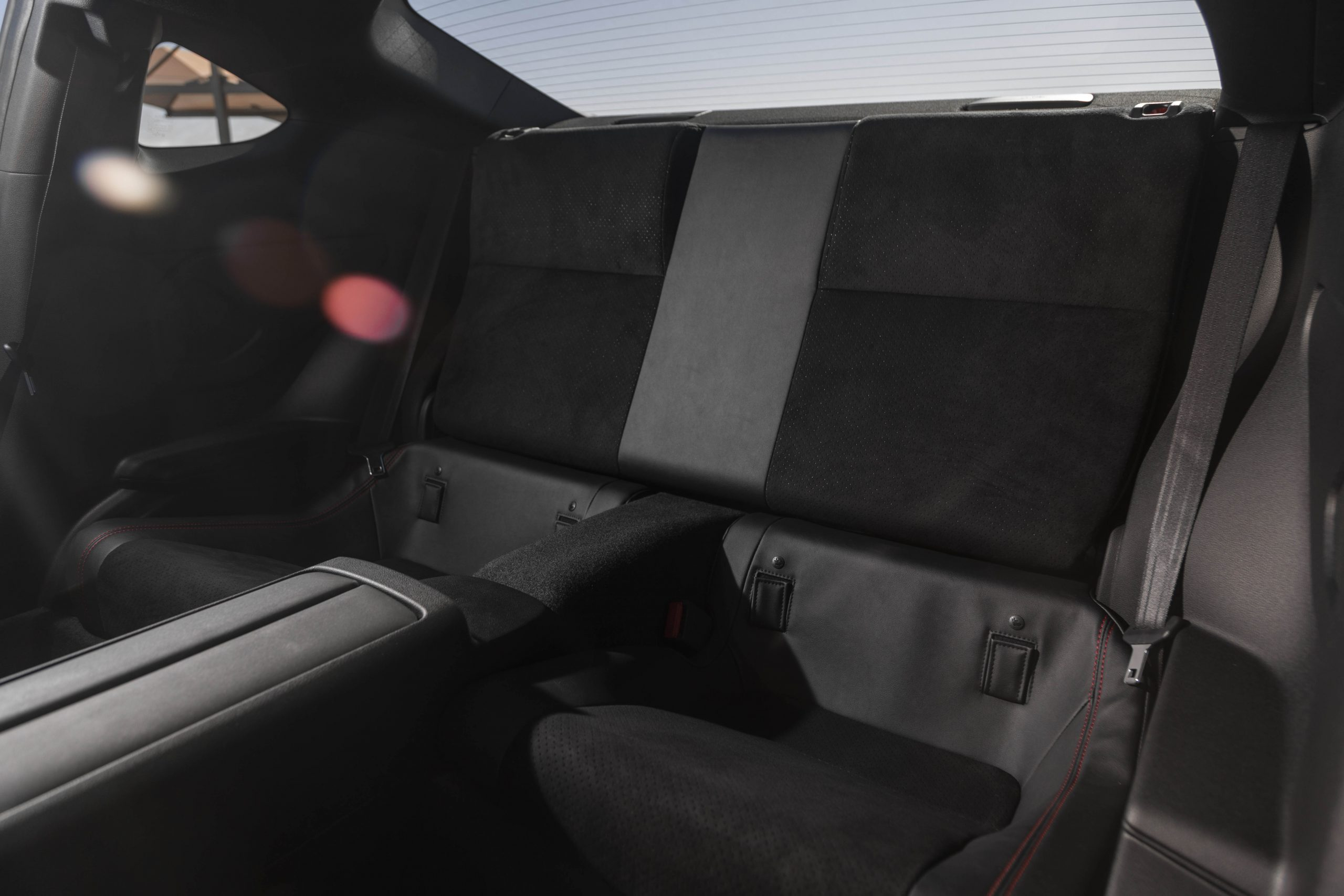 New 2022 Subaru BRZ interior rear seat