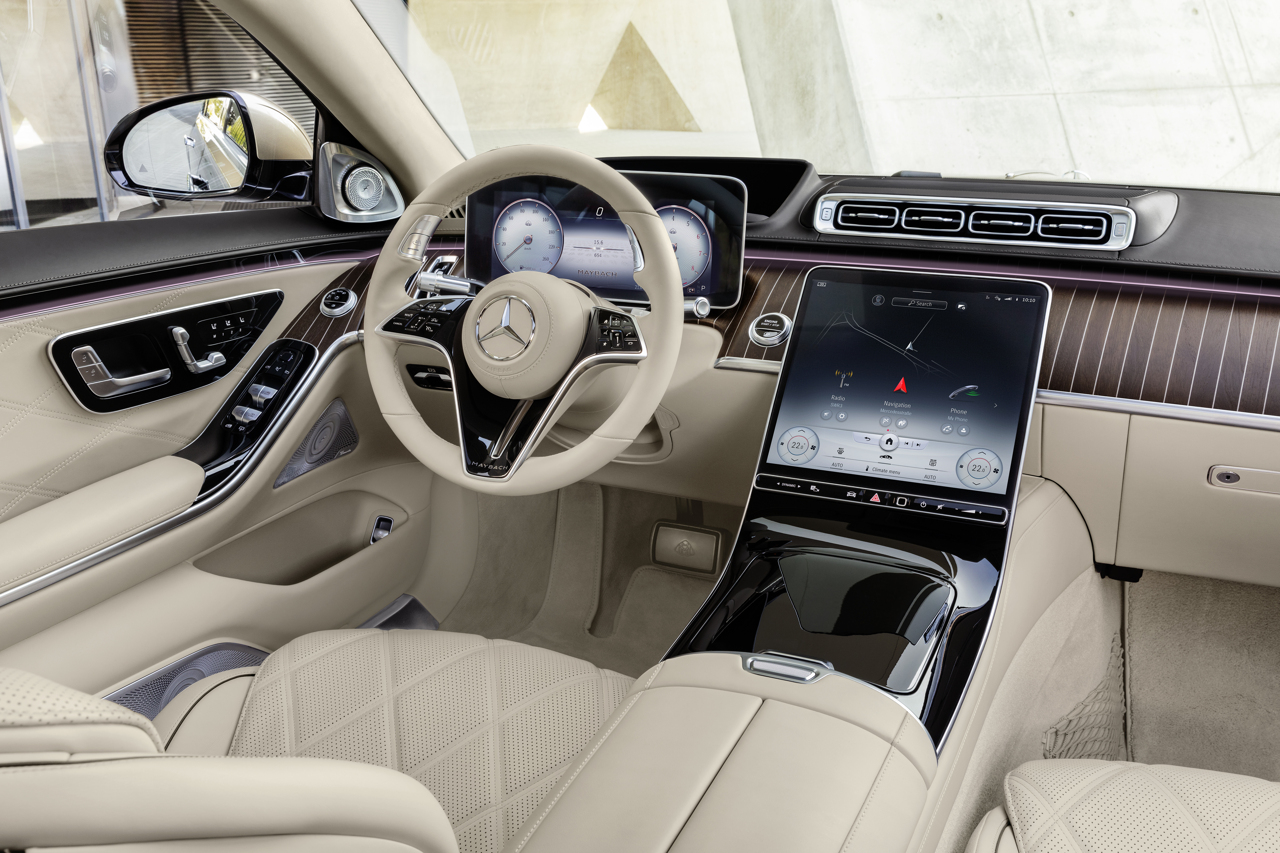 Mercedes-Maybach S-Class 2020 front interior
