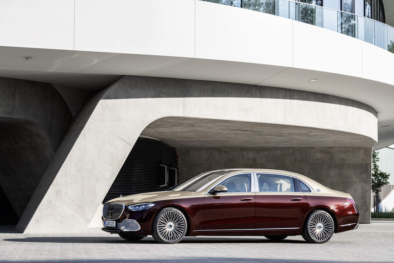 Mercedes-Maybach S-Class 2020 profile static