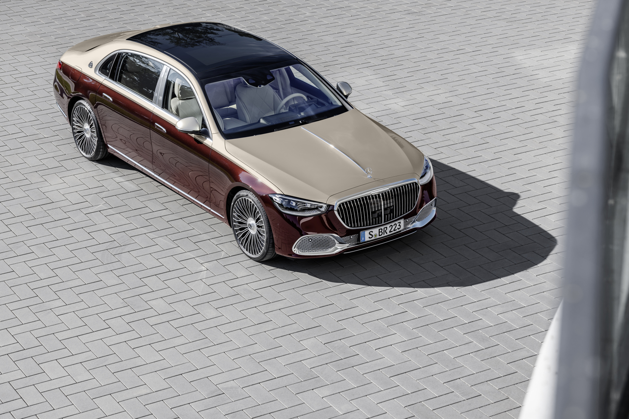 Mercedes-Maybach S-Class 2020 raised front static