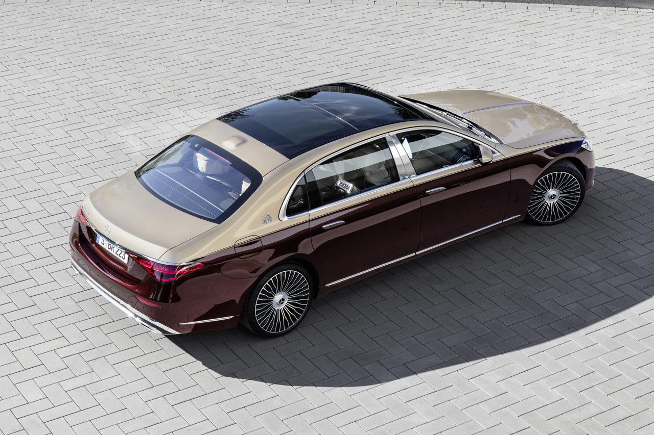 Mercedes-Maybach S-Class 2020 raised rear static