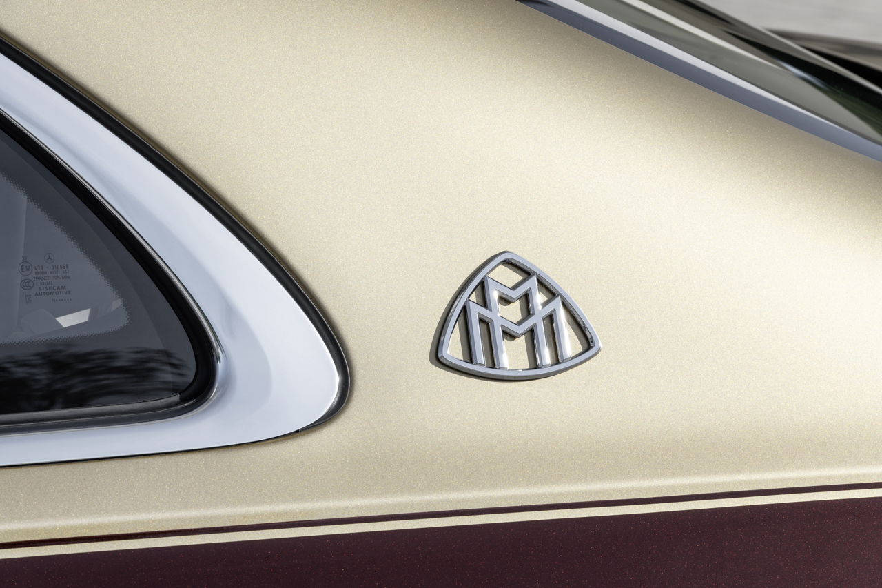 Mercedes-Maybach S-Class 2020 badge