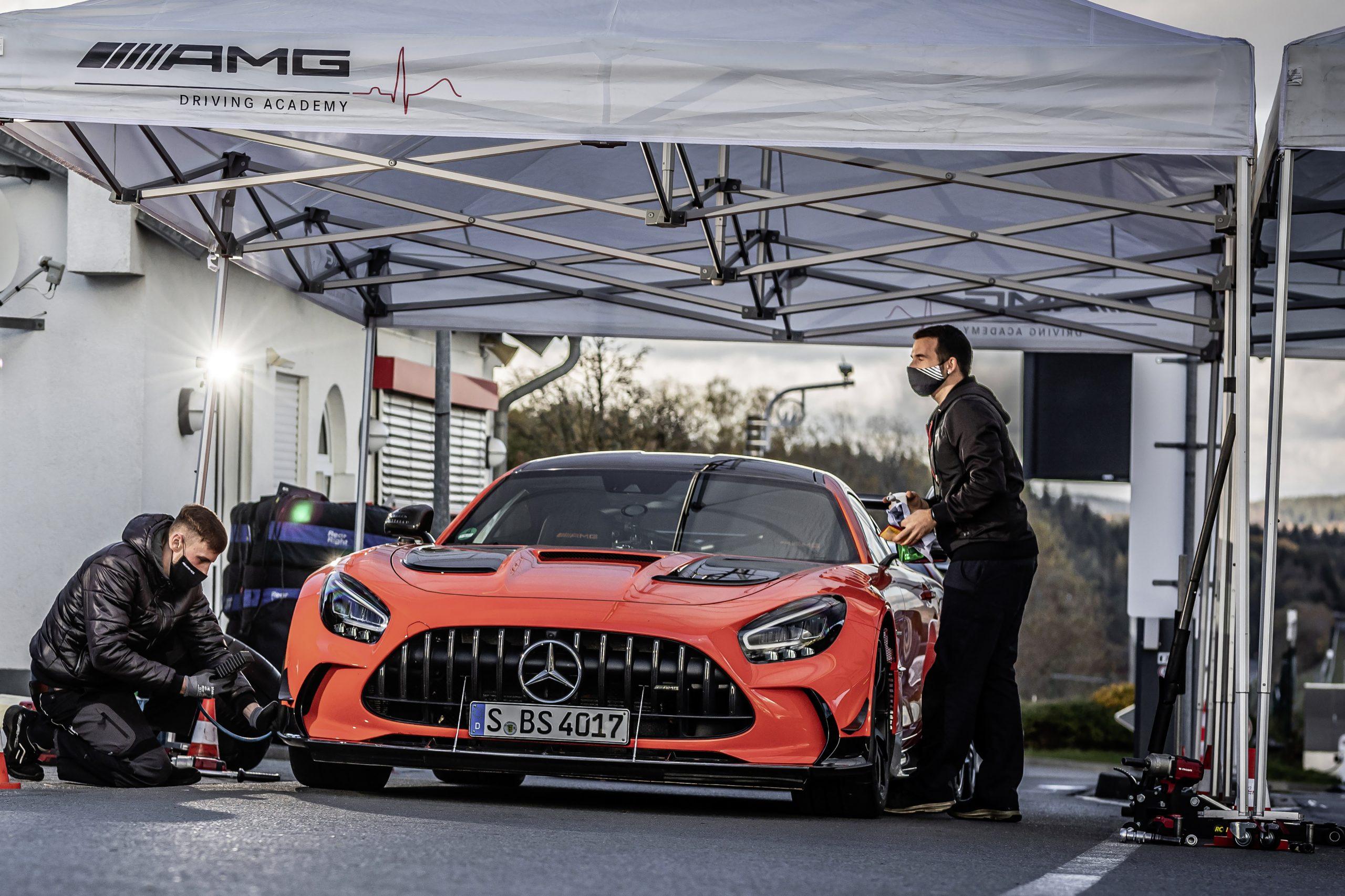 Mercedes-AMG GT Black Series 2020 nurburgring record