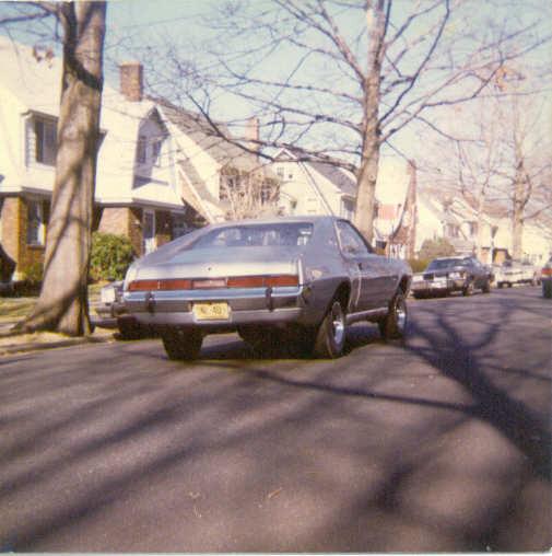 1970 AMC AMX Belfiore non-SCCA car