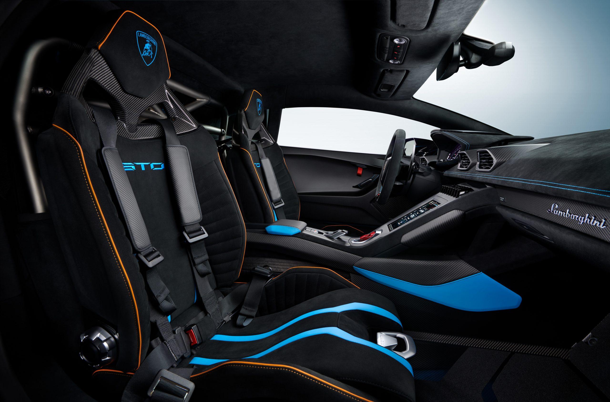 Lamborghini Huracan STO interior 4