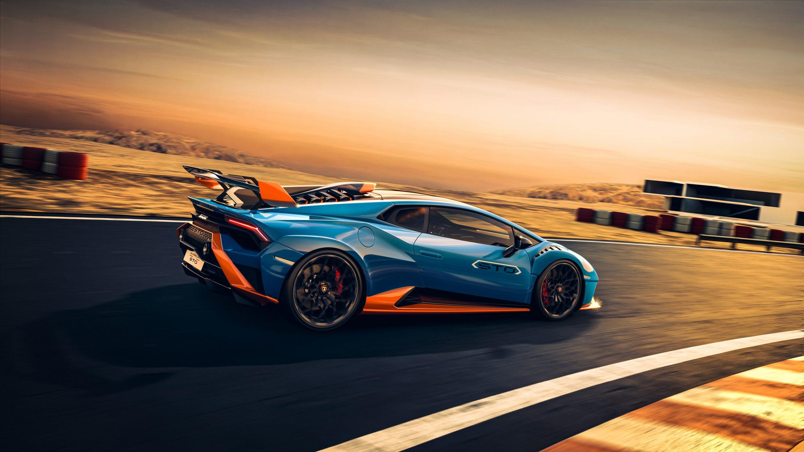 Lamborghini Huracan STO track 1