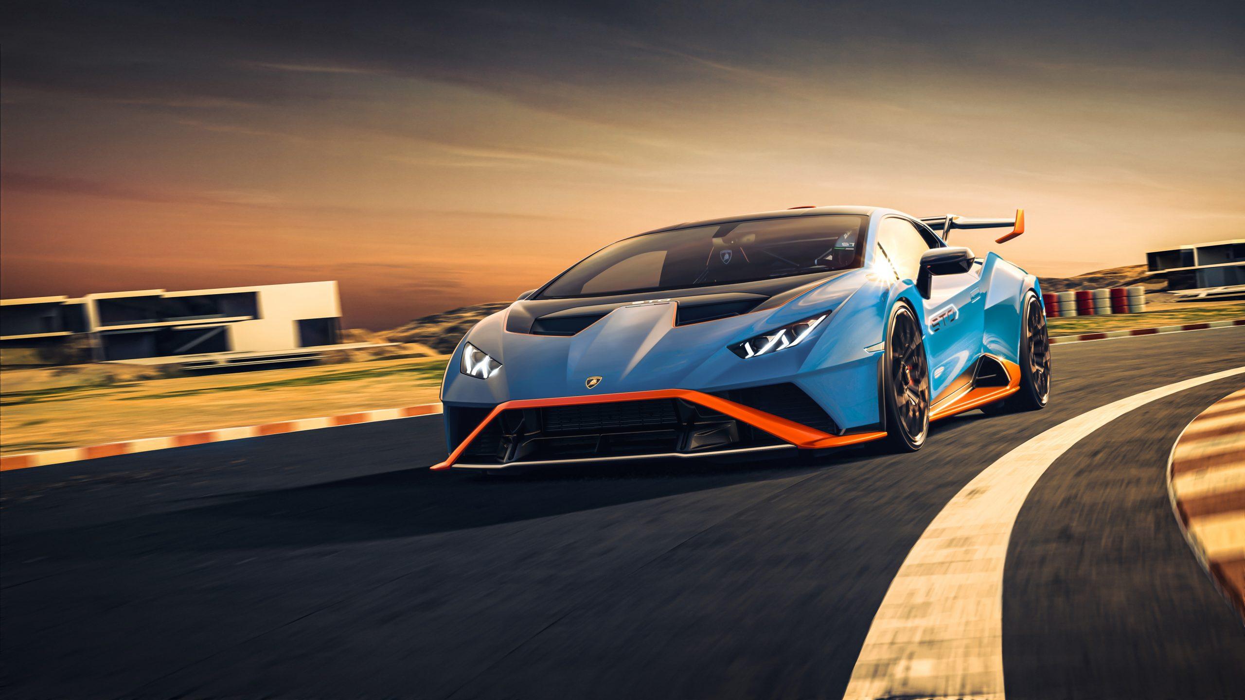 Lamborghini Huracan STO track 2