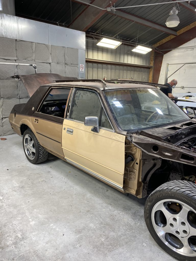 1983 Lincoln Continental Valentino restomod