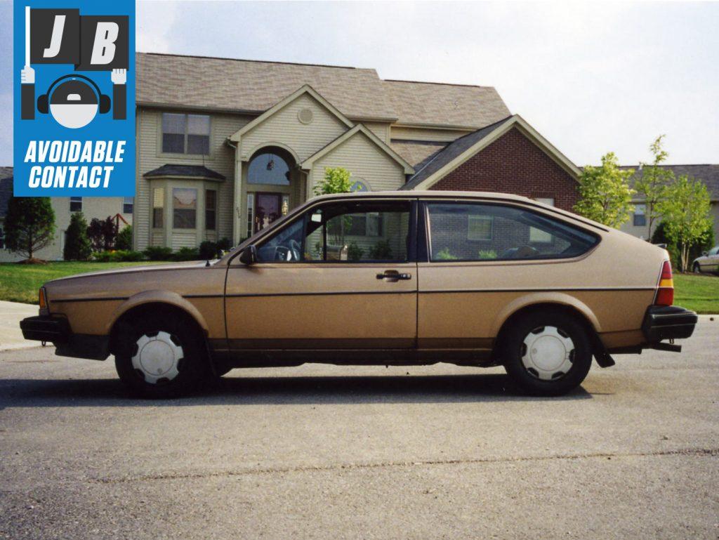 vw volkswagen quantum coupe side profile