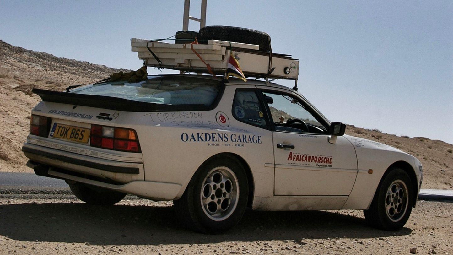 Africa Porsche 944 overlanding setup