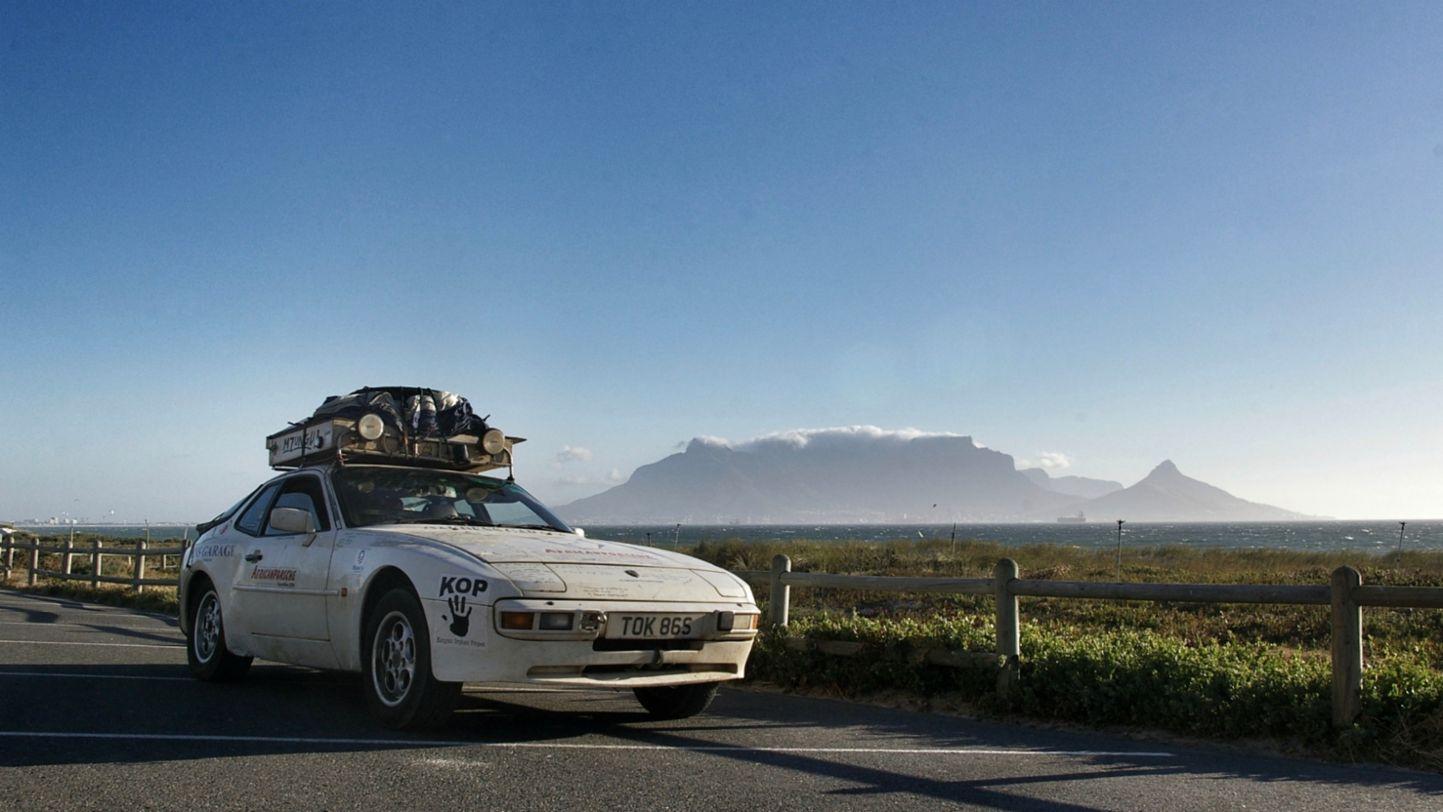 Africa Porsche 944 Journey's end Table Mountain