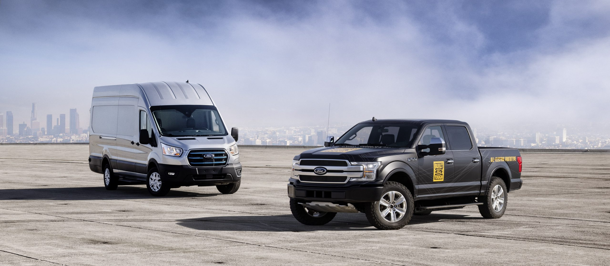 All-New Ford E-Transit and All-Electric F-150