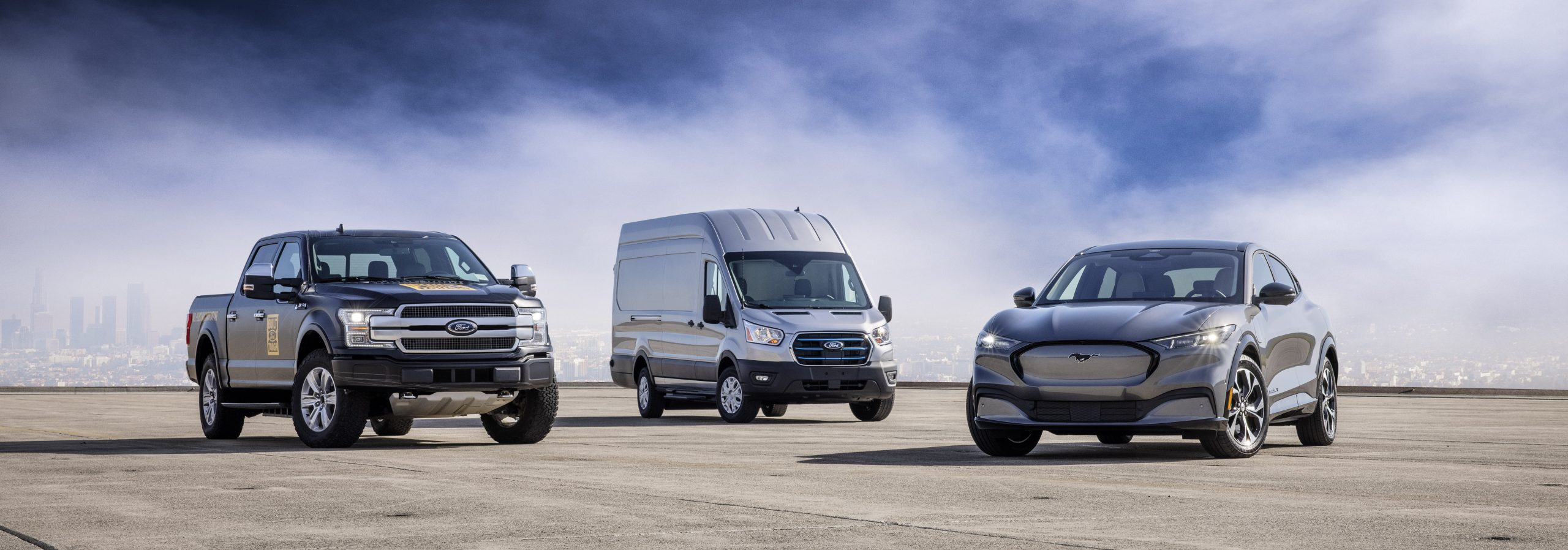 All-New Ford E-Transit, Mustang Mach-E and Electric F-150