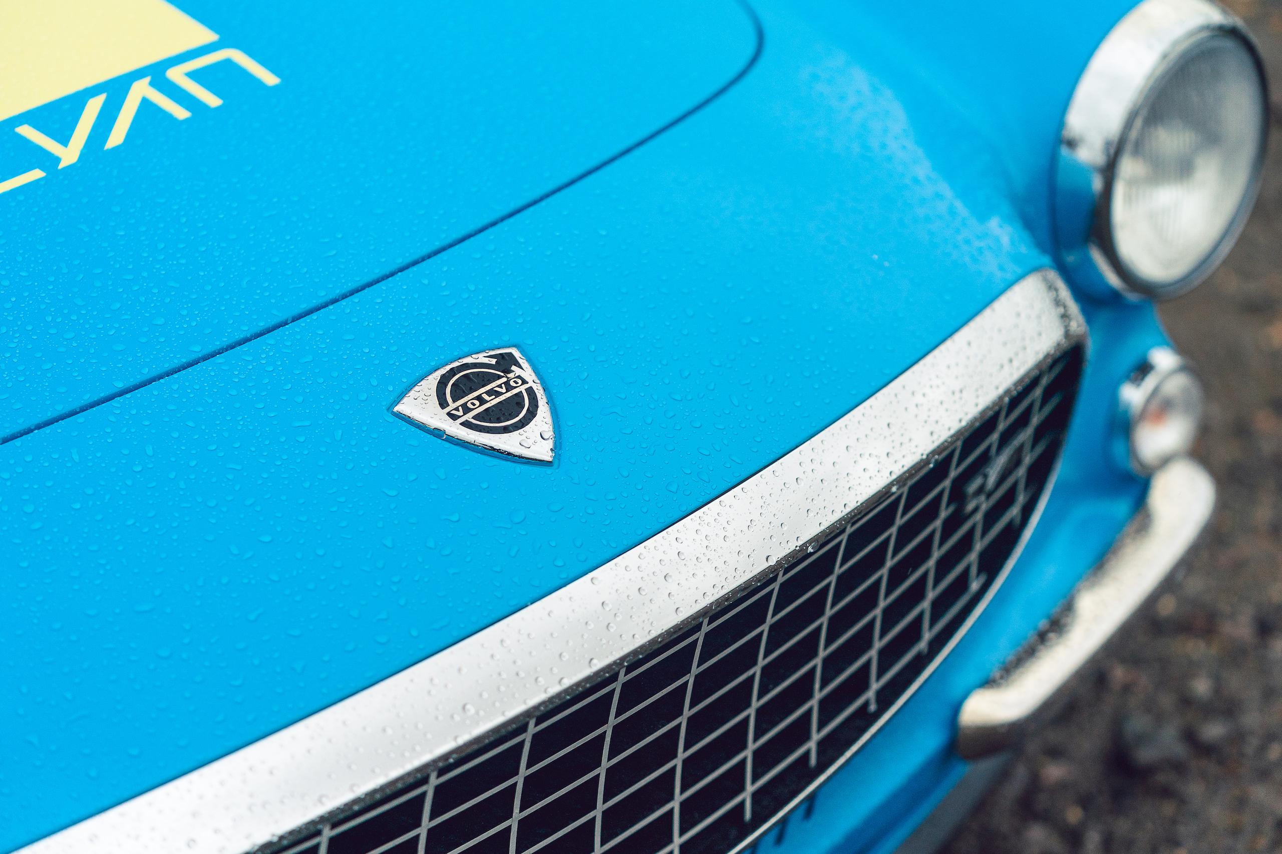 CYAN RACING P1800 front logo badge