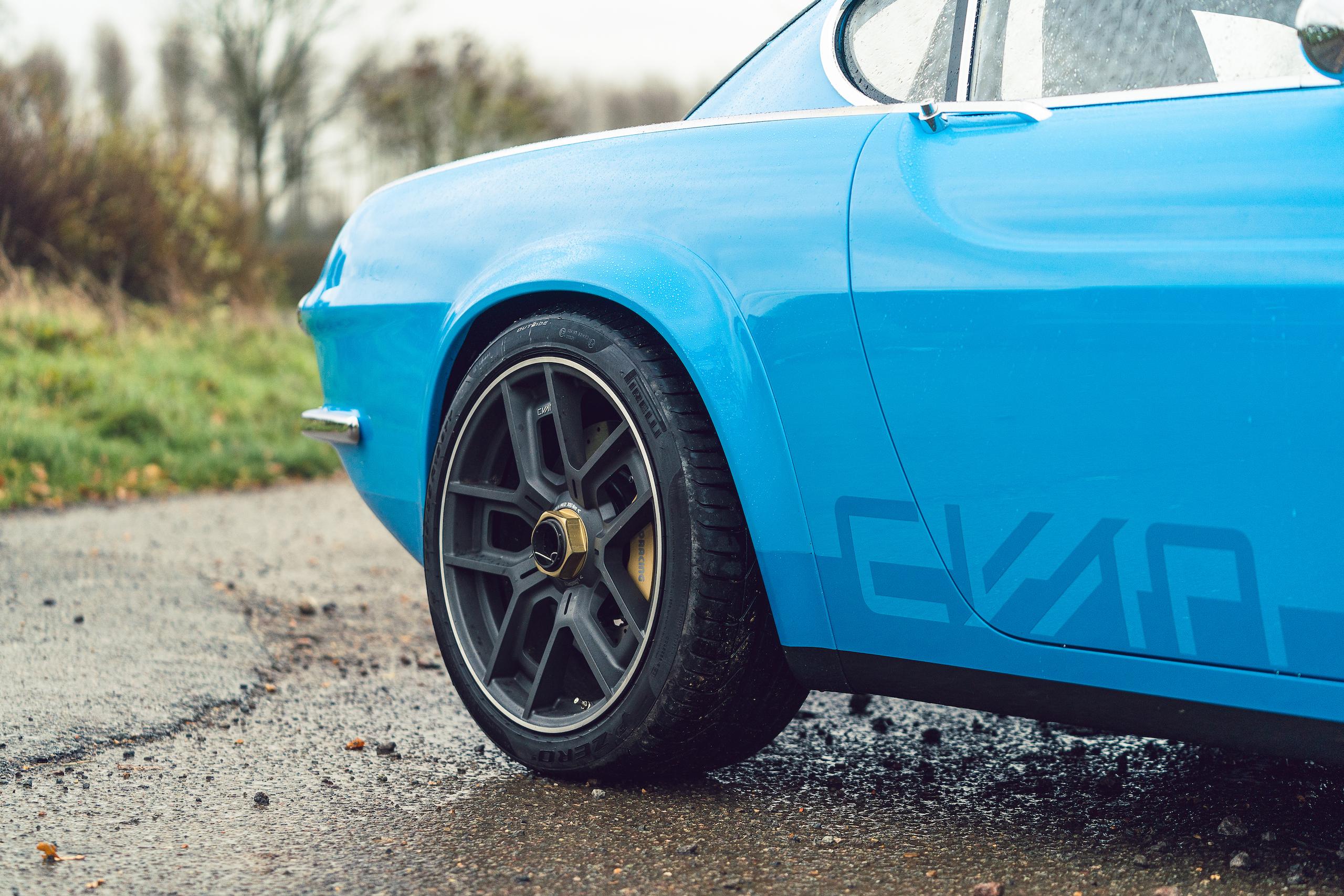 CYAN RACING P1800 rear quarter panel
