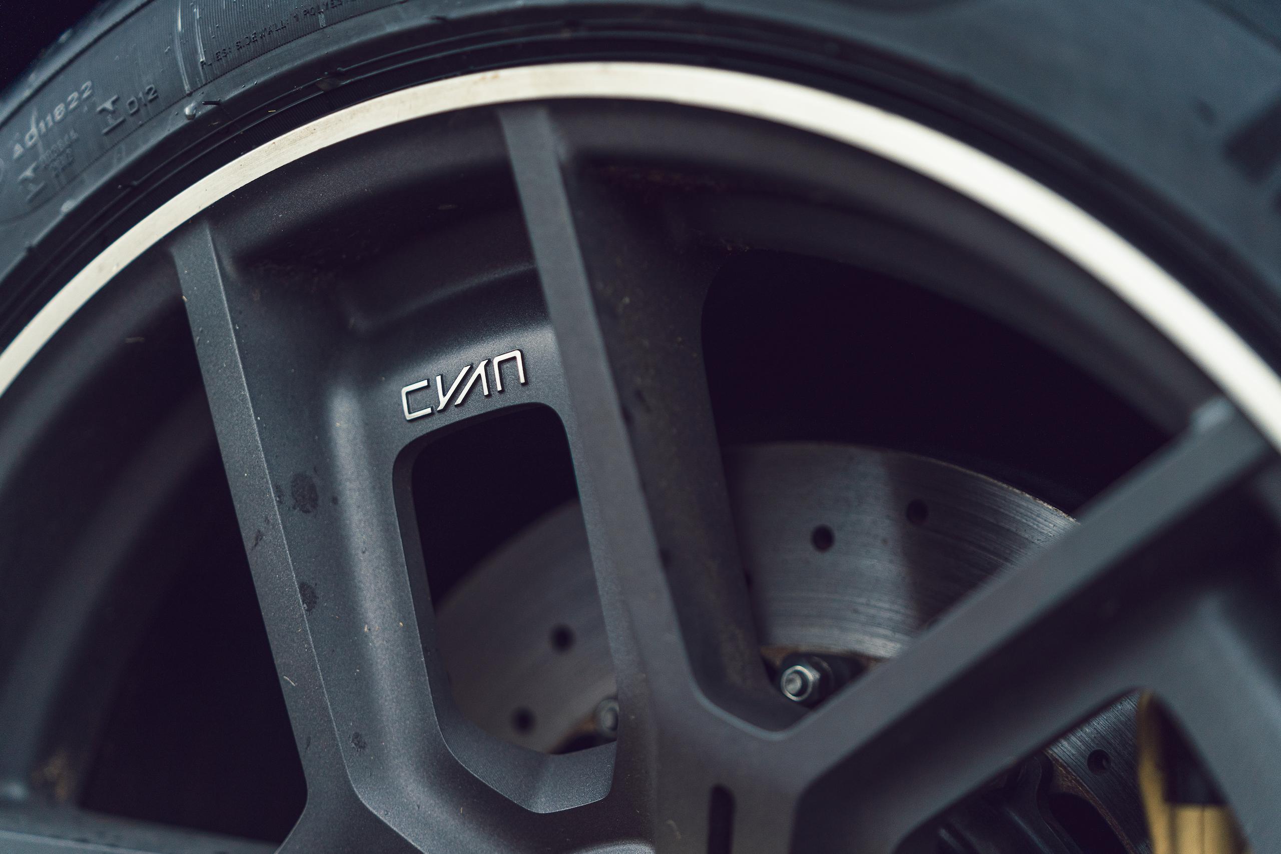 CYAN RACING P1800 wheel detail