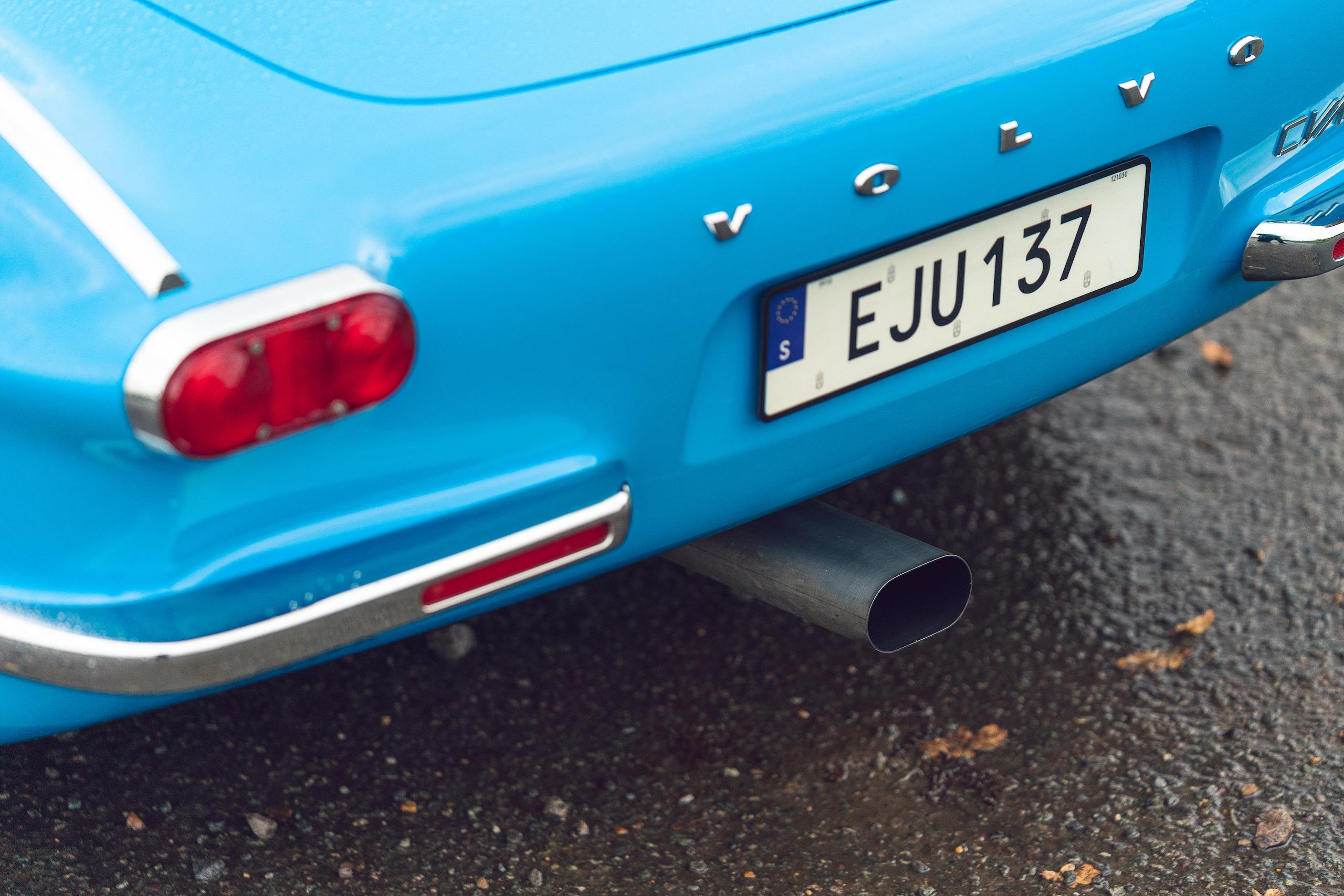 CYAN RACING P1800 rear fascia