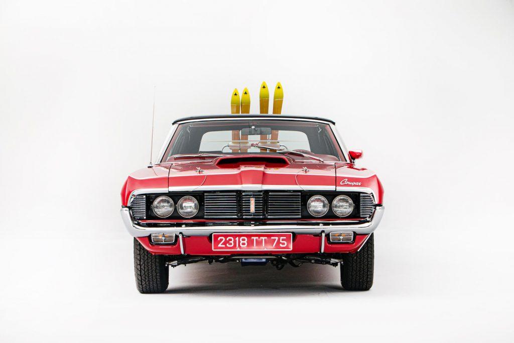 Mercury Cougar Convertible front