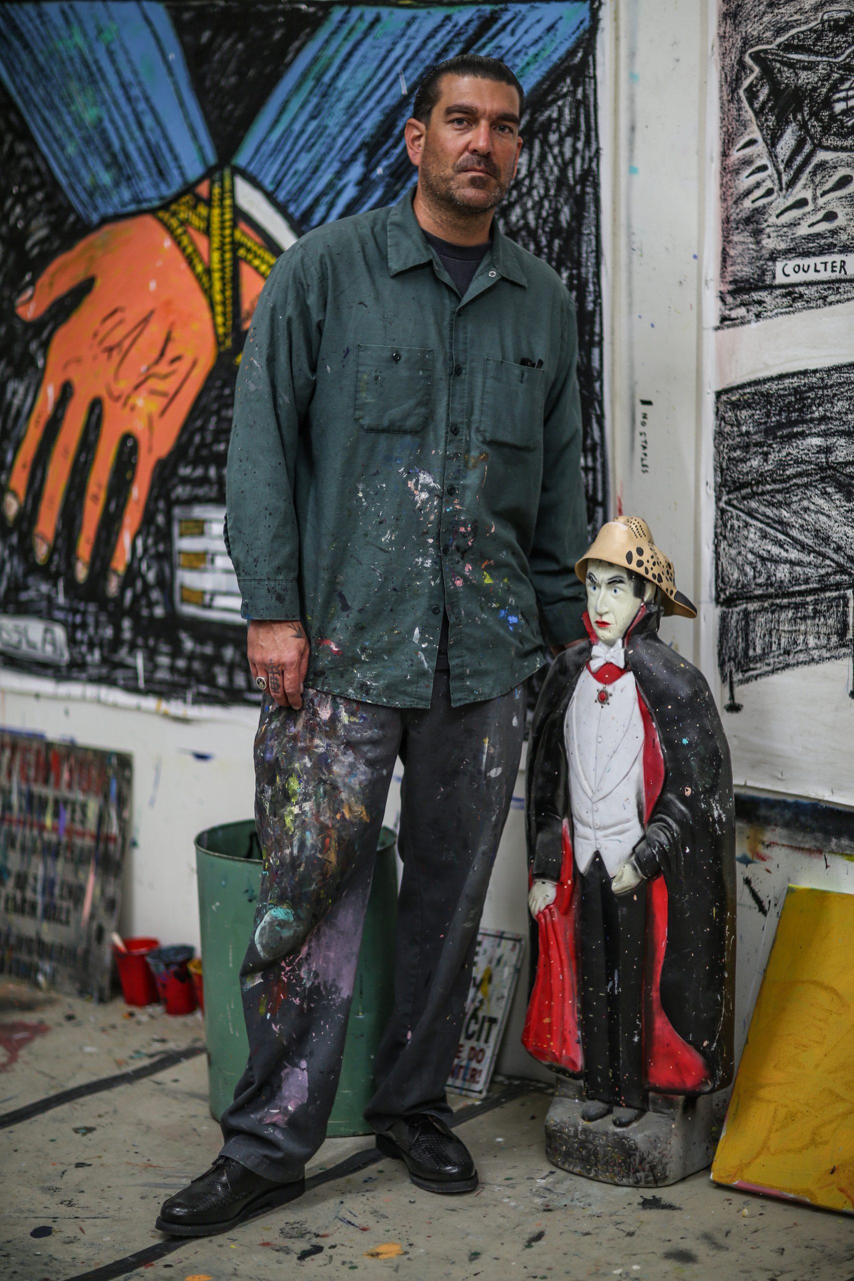 Coulter Jacobs studio dracula figure