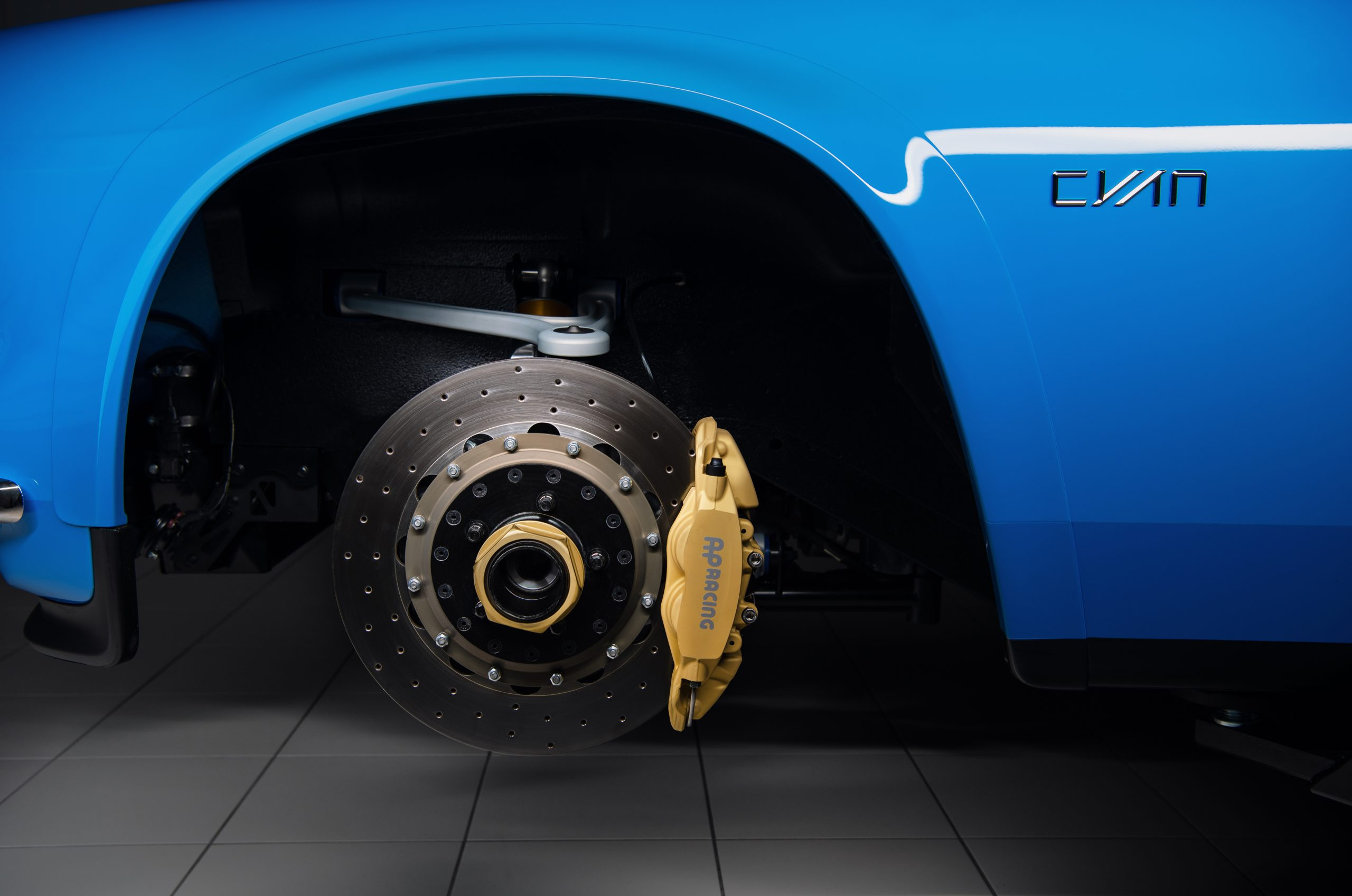 Cyan Racing Volvo P1800 brake detail