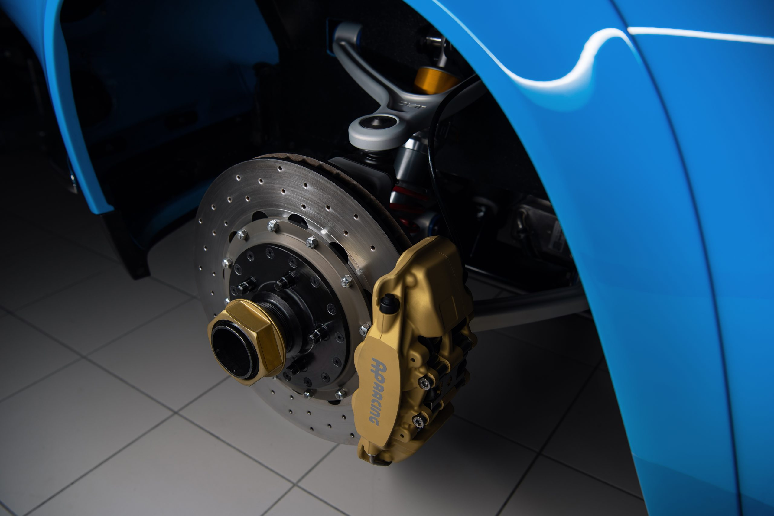 Cyan Racing Volvo P1800 brake suspension