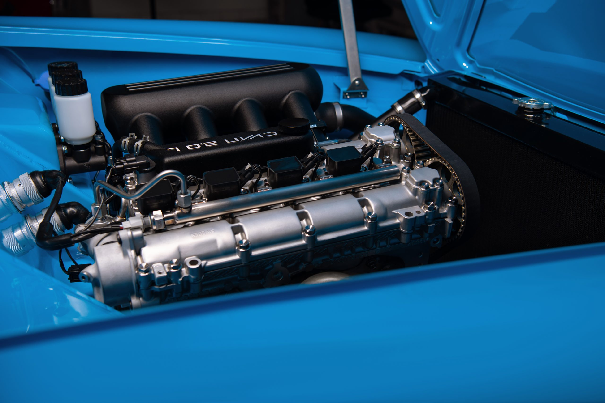 Cyan Racing Volvo P1800 engine