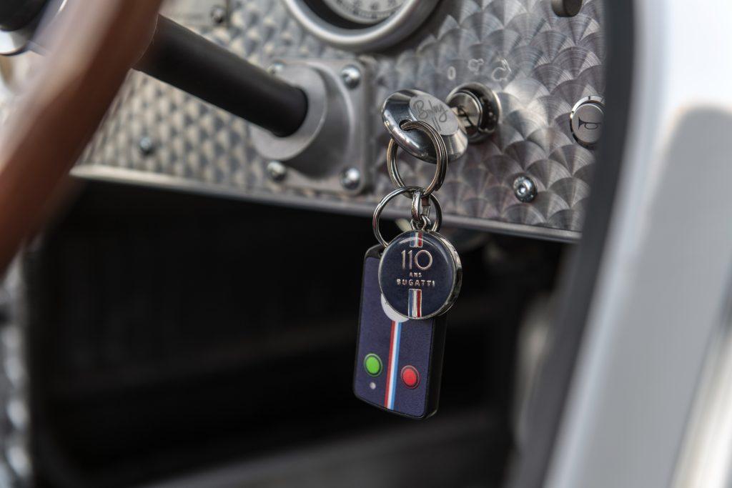 Bugatti Baby II key fob
