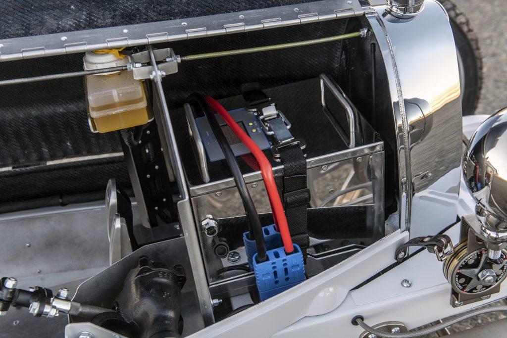 Bugatti Baby II electric battery