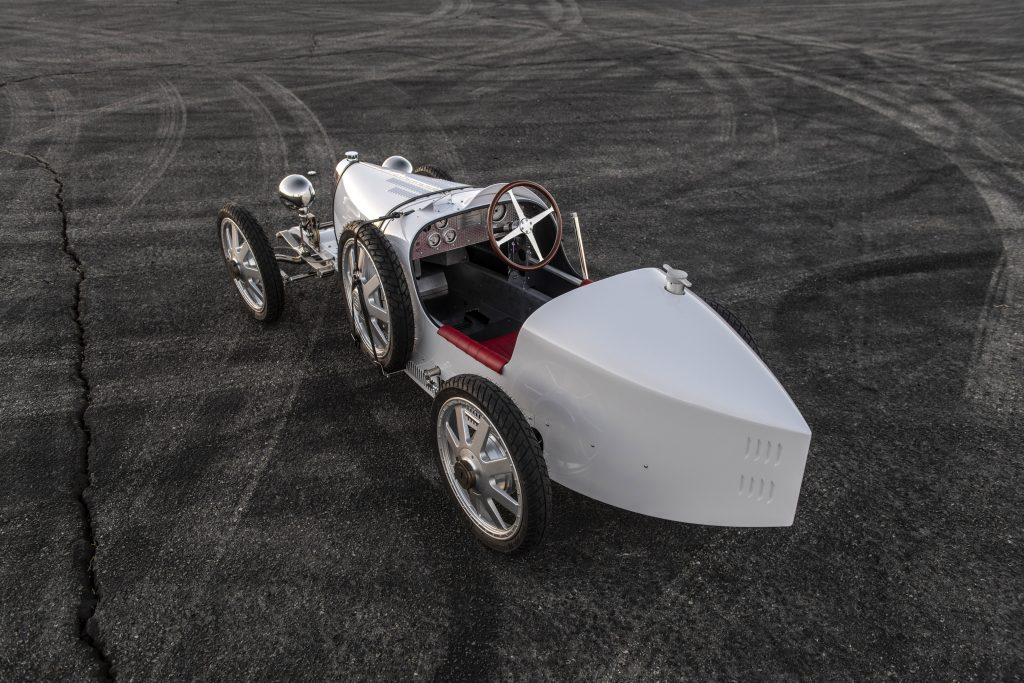 Bugatti Baby II rear