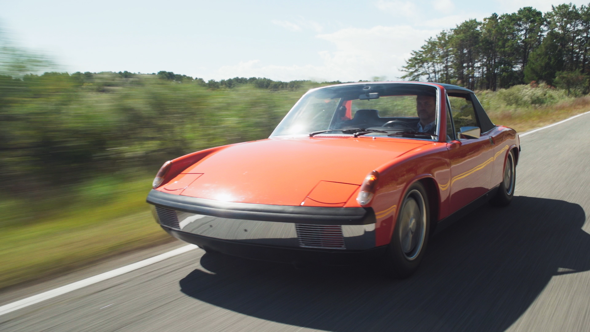 Drives Unexpected - Justin Bell - in a Porsche 914