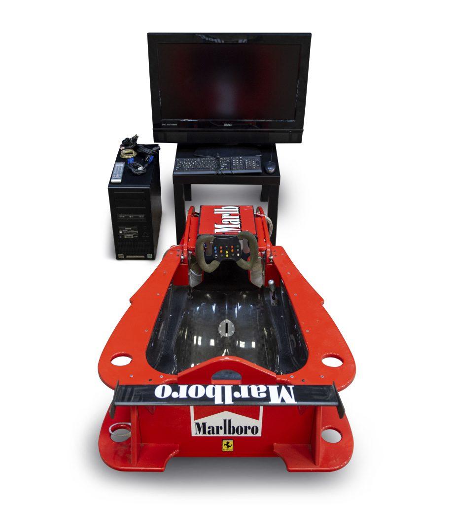 Ferrari F1 Simulator rear