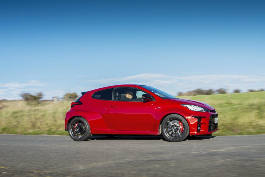 GR Toyota Yaris side profile