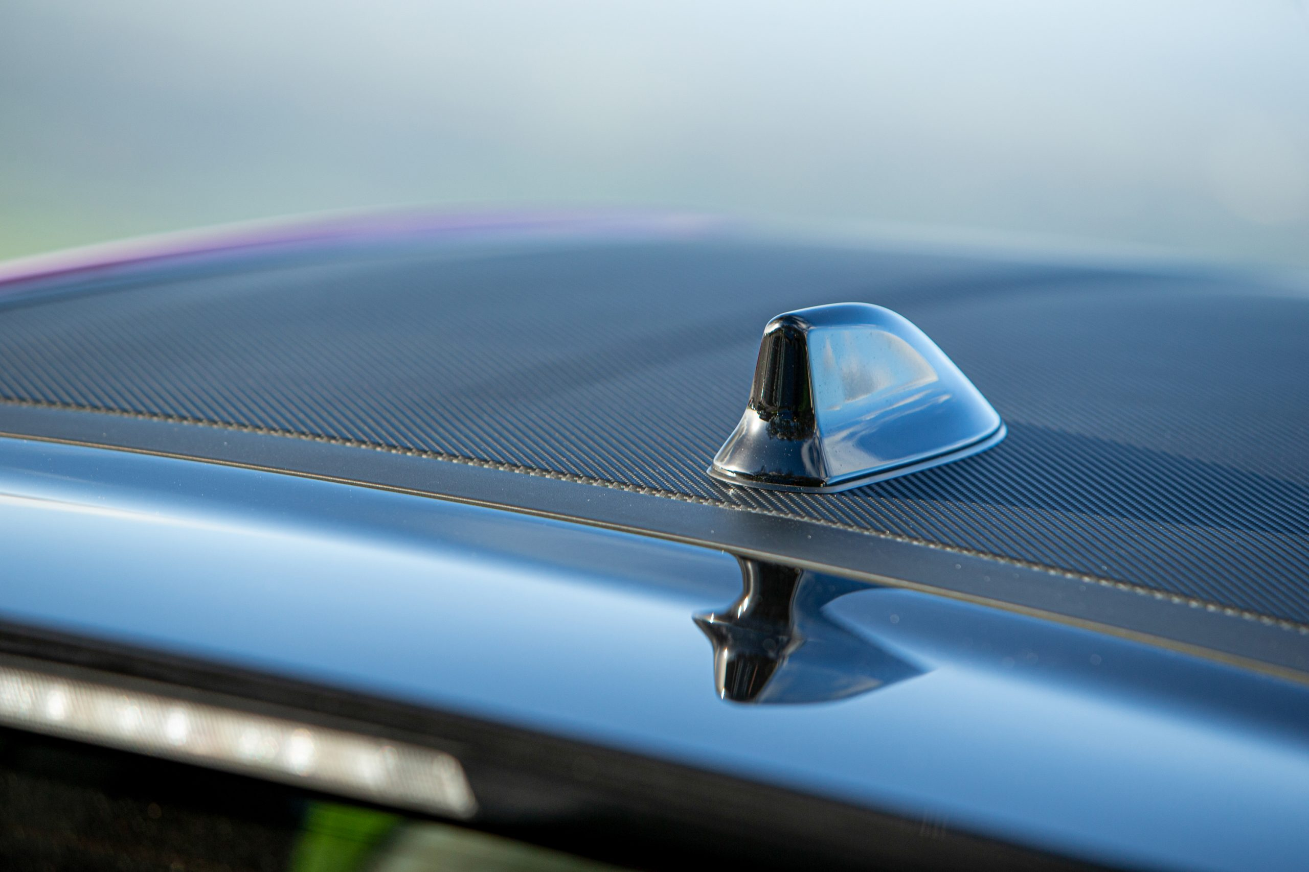 GR Toyota Yaris fin antenna detail